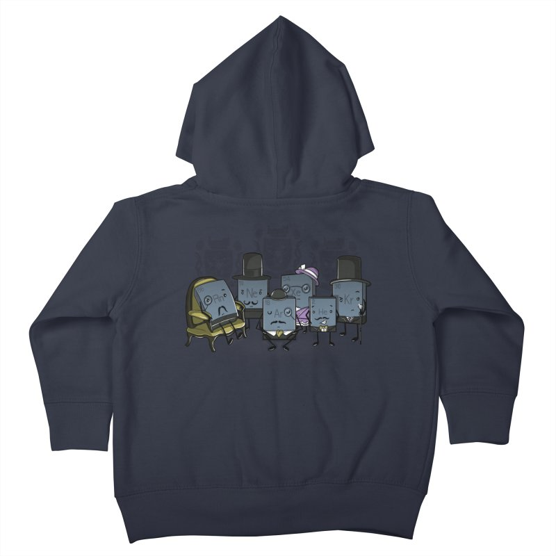 Noble Gases Kids Toddler Zip-Up Hoody by WIRDOU