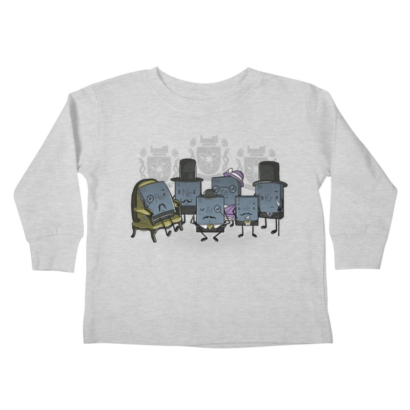 Noble Gases Kids Toddler Longsleeve T-Shirt by WIRDOU
