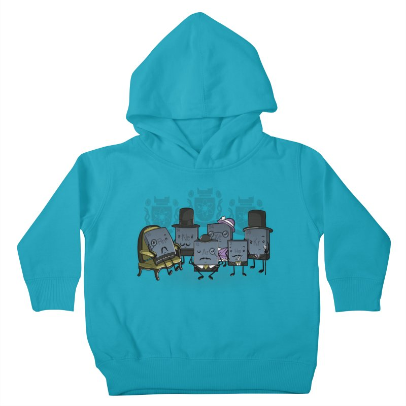 Noble Gases Kids Toddler Pullover Hoody by WIRDOU