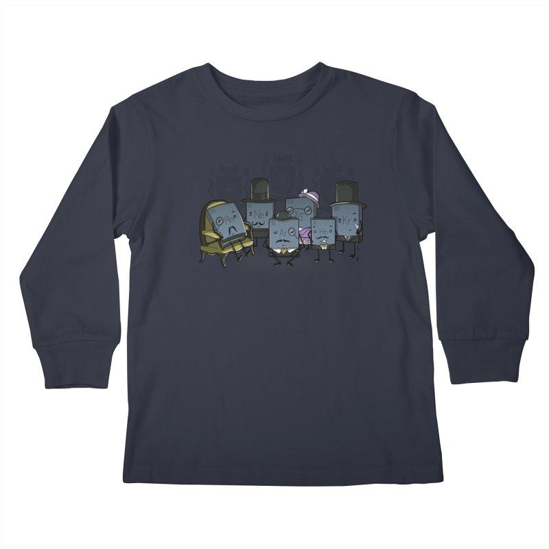 Noble Gases Kids Longsleeve T-Shirt by WIRDOU