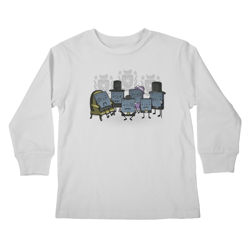 Noble Gases Kids Longsleeve T-Shirt by WIRDOU