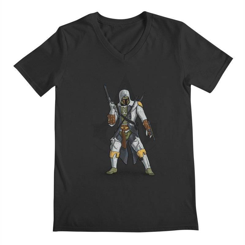 Ultimate Assassin Men's V-Neck by WIRDOU