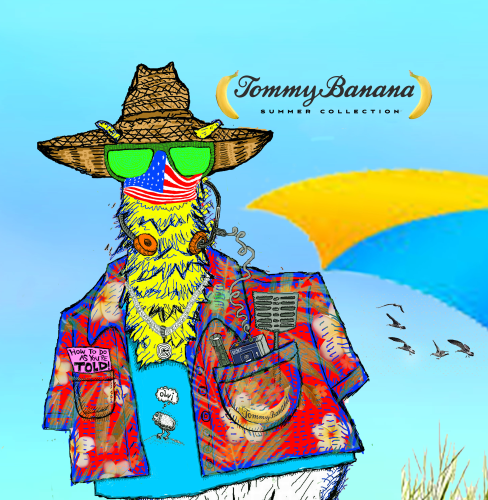 Tommy-Banana-Summer-Collection