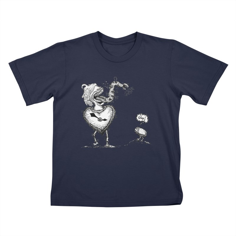 OBVI Kids T-Shirt by WISE FINGER LAB