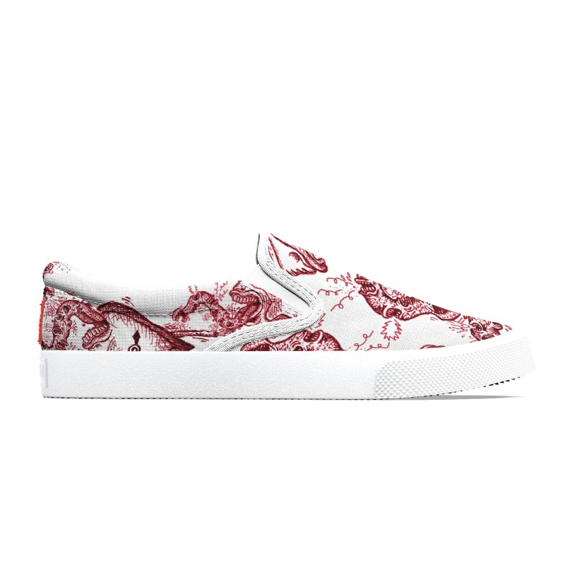 RED PENCIL - TALK Men's Shoes by WISE FINGER LAB