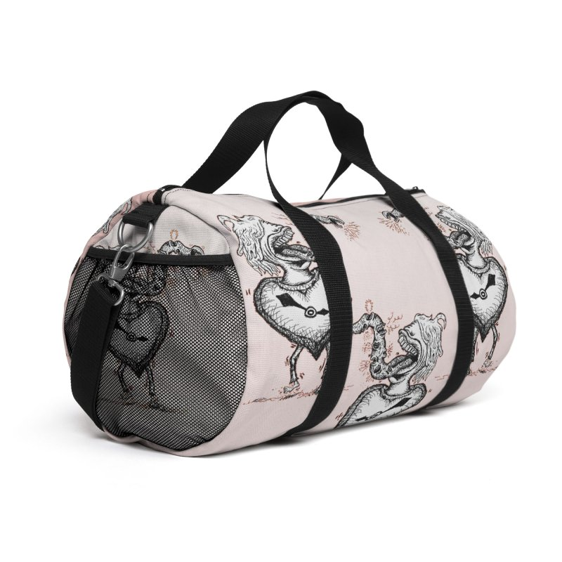 I'LL HAVE THE SALMON Accessories Bag by WISE FINGER LAB