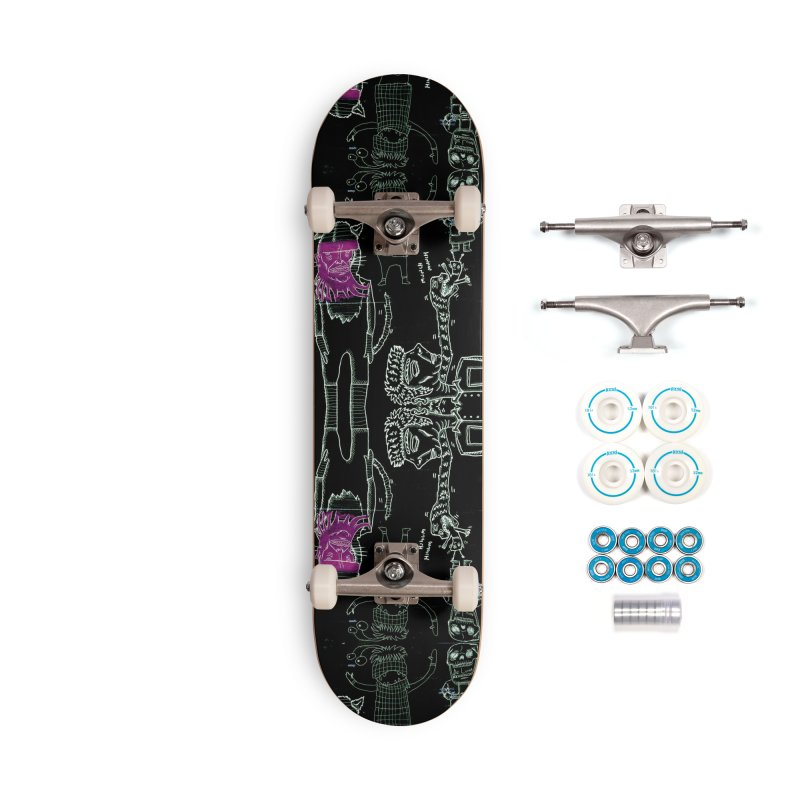 THE LAB - CHALKBOARD Accessories Skateboard by WISE FINGER LAB