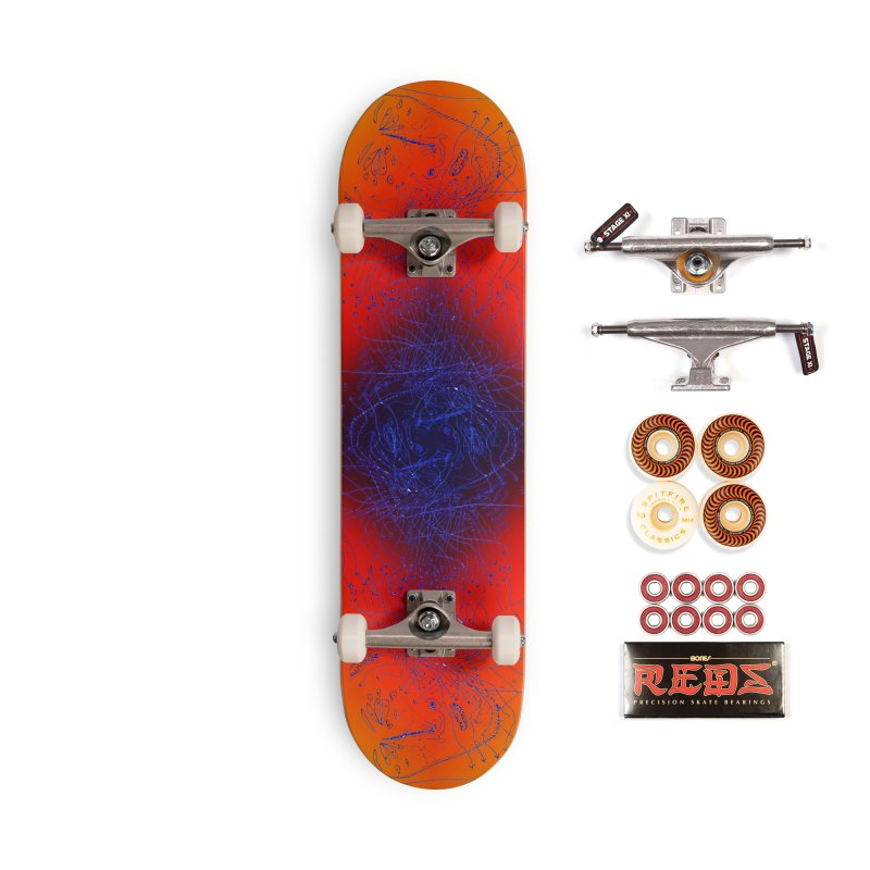 COMPENDIUMS - SPACE TRAVEL Accessories Skateboard by WISE FINGER LAB