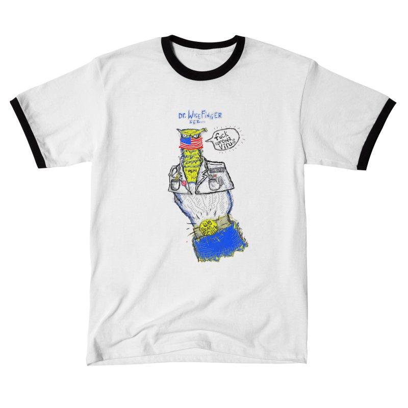 WISEFINGER SAYS - FUCK CORONAVIRUS - WE WILL PREVAIL Women's T-Shirt by WISE FINGER LAB