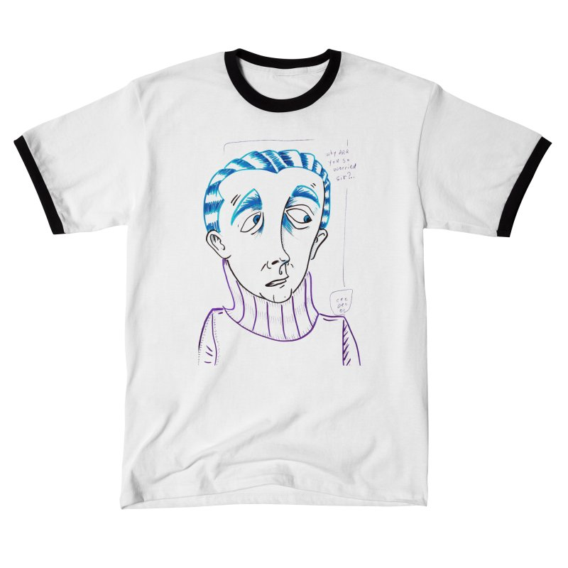 WORRIED SIR Women's T-Shirt by WISE FINGER LAB