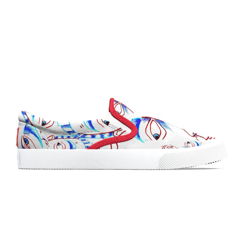 WORRIED SIR - BEACHBLEACH - RED BINDING Women's Shoes by WISE FINGER LAB