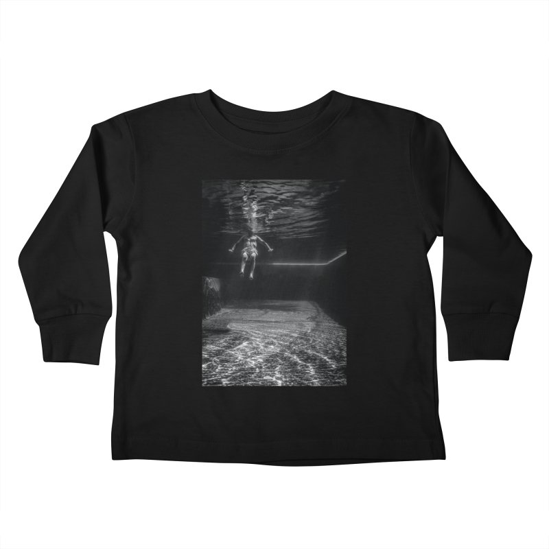 FLOAT SERIES - MIND AND BODY - MAN 2 Kids Toddler Longsleeve T-Shirt by WISE FINGER LAB
