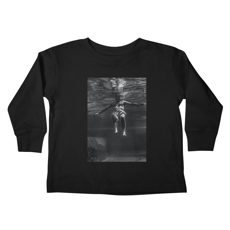 FLOAT SERIES - MIND AND BODY MAN 4 Kids Toddler Longsleeve T-Shirt by WISE FINGER LAB