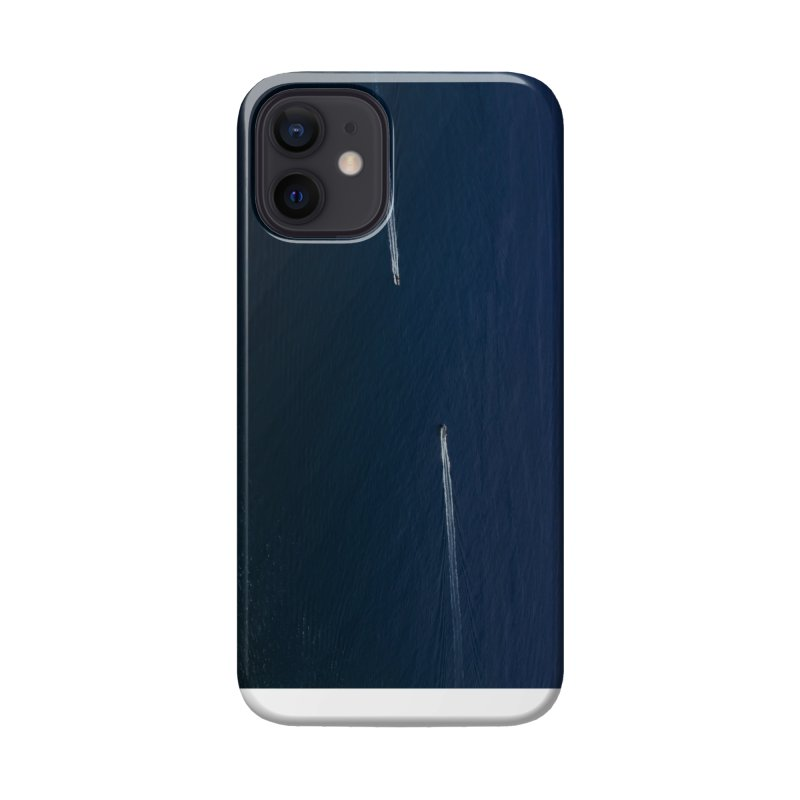 THE PATH AHEAD Accessories Phone Case by WISE FINGER LAB