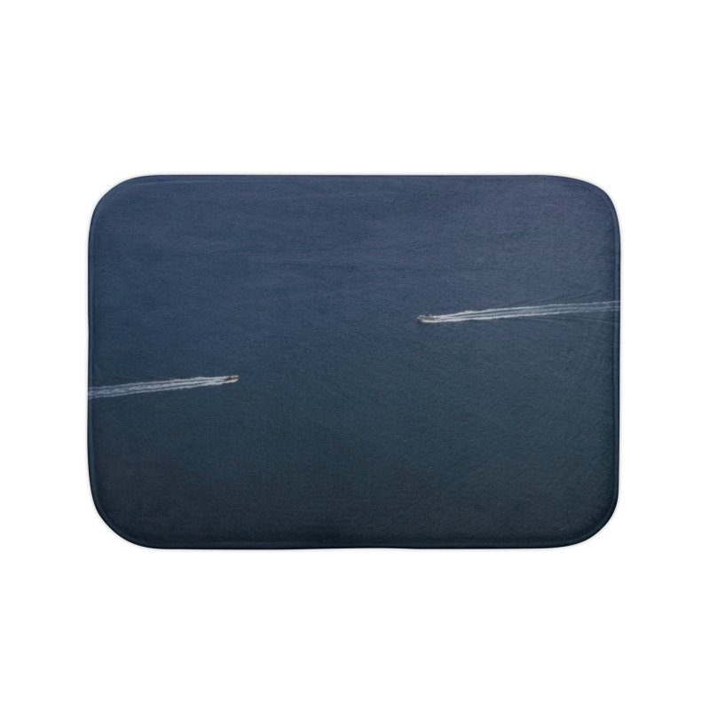 THE PATH AHEAD Home Bath Mat by WISE FINGER LAB