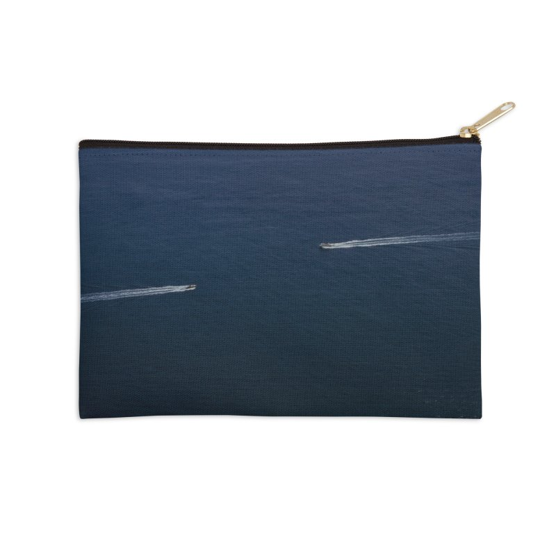 THE PATH AHEAD Accessories Zip Pouch by WISE FINGER LAB