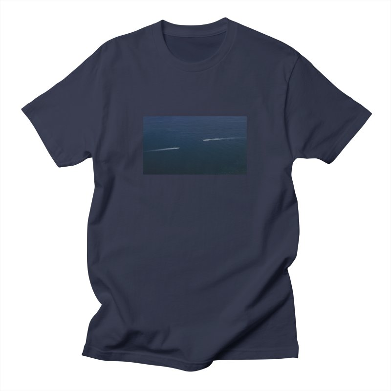 THE PATH AHEAD Men's T-Shirt by WISE FINGER LAB