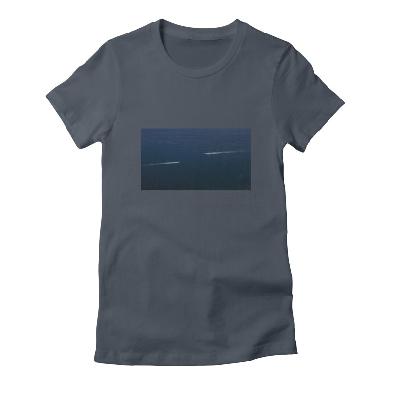 THE PATH AHEAD Women's T-Shirt by WISE FINGER LAB