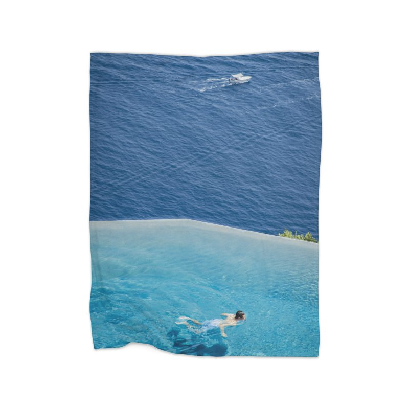 DIVIDED Home Blanket by WISE FINGER LAB