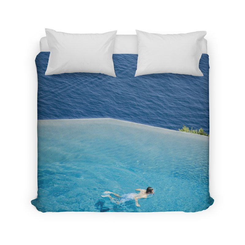 DIVIDED Home Duvet by WISE FINGER LAB