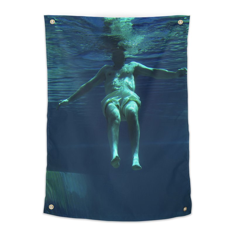 FLOAT SERIES - MIND AND BODY - COLOR - MAN 4 Home Tapestry by WISE FINGER LAB