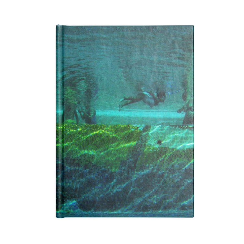FLOAT SERIES - FINDING HER FINS - COLOR - 1 Accessories Notebook by WISE FINGER LAB