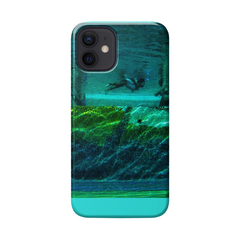 FLOAT SERIES - FINDING HER FINS - COLOR - 1 Accessories Phone Case by WISE FINGER LAB