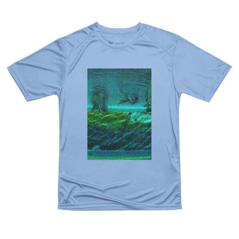 FLOAT SERIES - FINDING HER FINS - COLOR - 1 Men's T-Shirt by WISE FINGER LAB