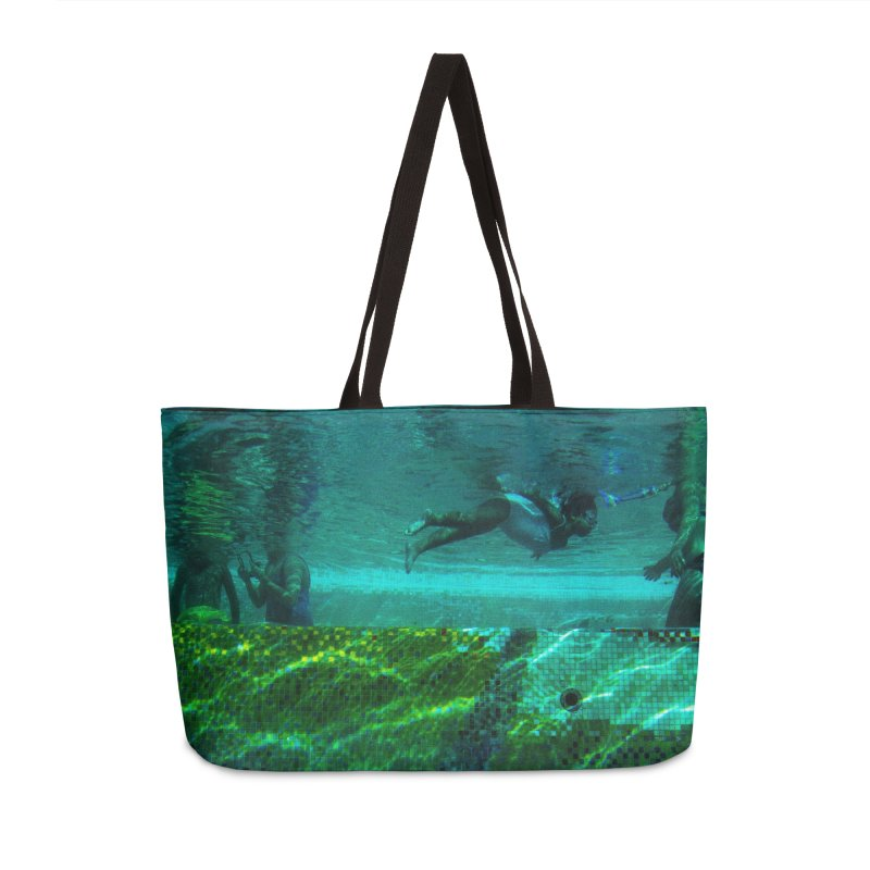 FLOAT SERIES - FINDING HER FINS - COLOR - 1 Accessories Bag by WISE FINGER LAB