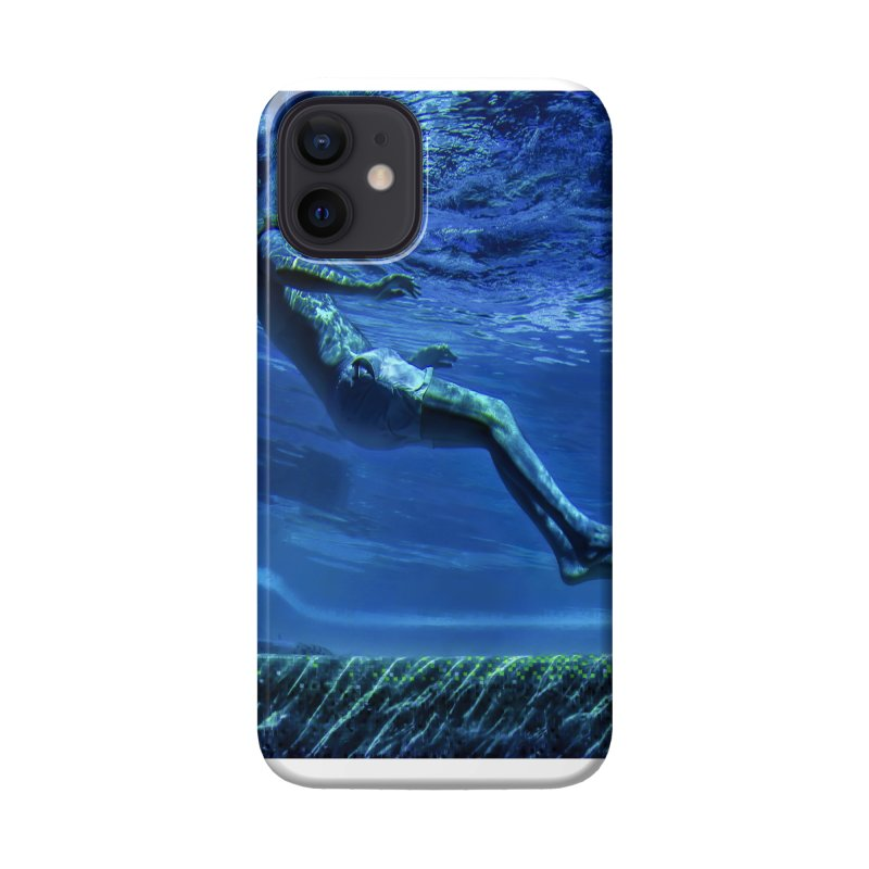 FLOAT SERIES - MIND AND BODY - COLOR - MAN 1 Accessories Phone Case by WISE FINGER LAB