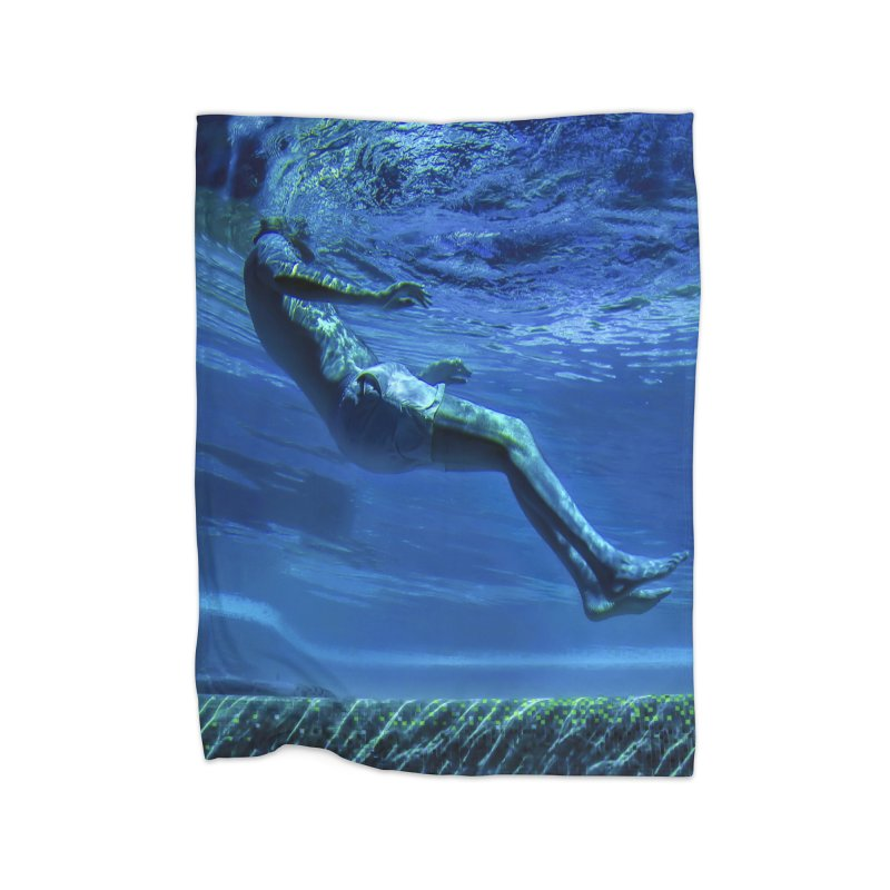 FLOAT SERIES - MIND AND BODY - COLOR - MAN 1 Home Blanket by WISE FINGER LAB