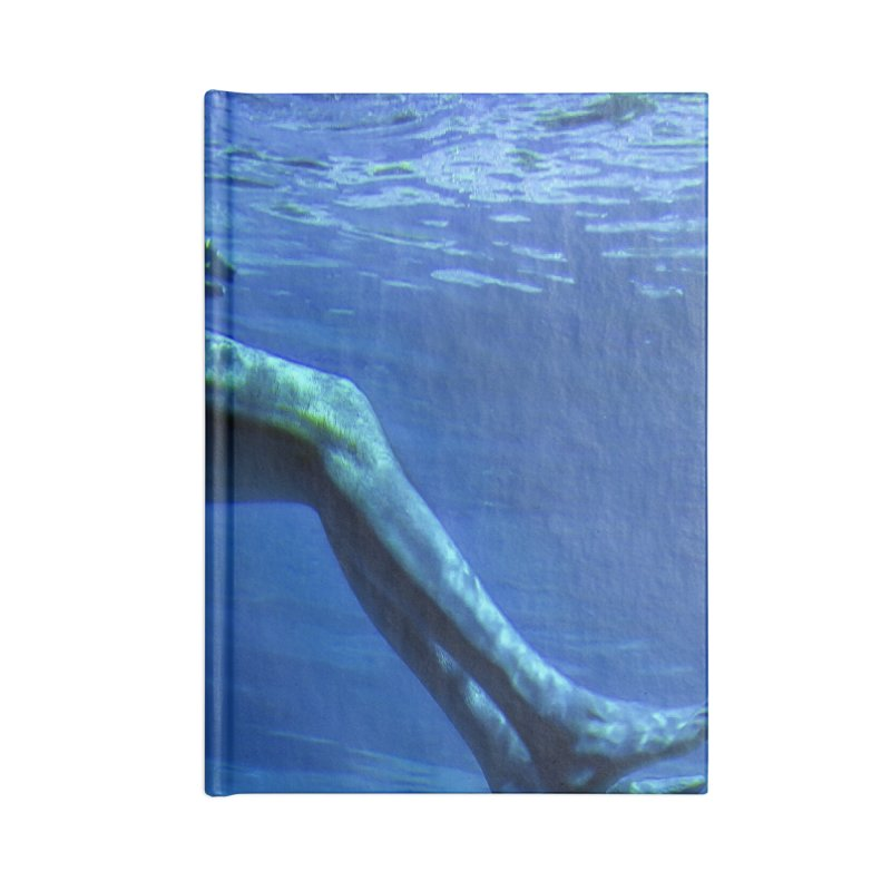 FLOAT SERIES - MIND AND BODY - COLOR - MAN 1 Accessories Notebook by WISE FINGER LAB