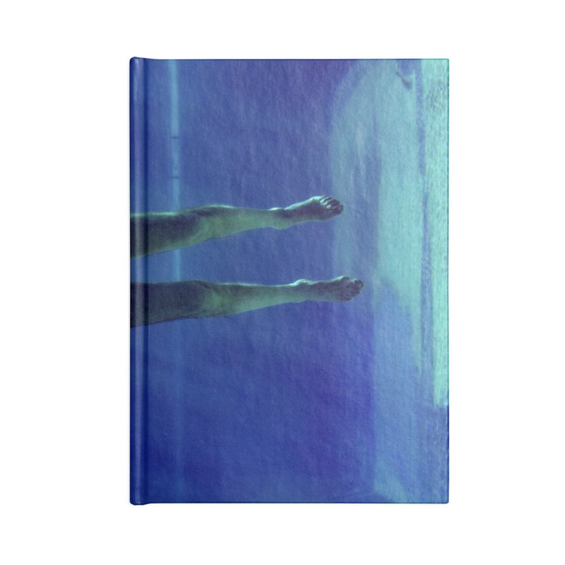 FLOAT SERIES - MIND AND BODY - COLOR - MAN 3 Accessories Notebook by WISE FINGER LAB