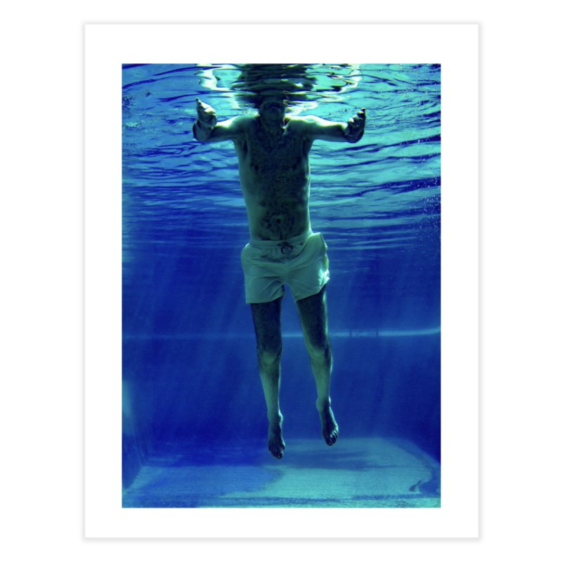 FLOAT SERIES - MIND AND BODY - COLOR - MAN 3 Home Fine Art Print by WISE FINGER LAB
