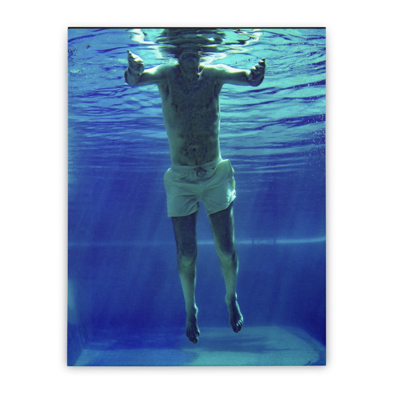 FLOAT SERIES - MIND AND BODY - COLOR - MAN 3 Home Stretched Canvas by WISE FINGER LAB