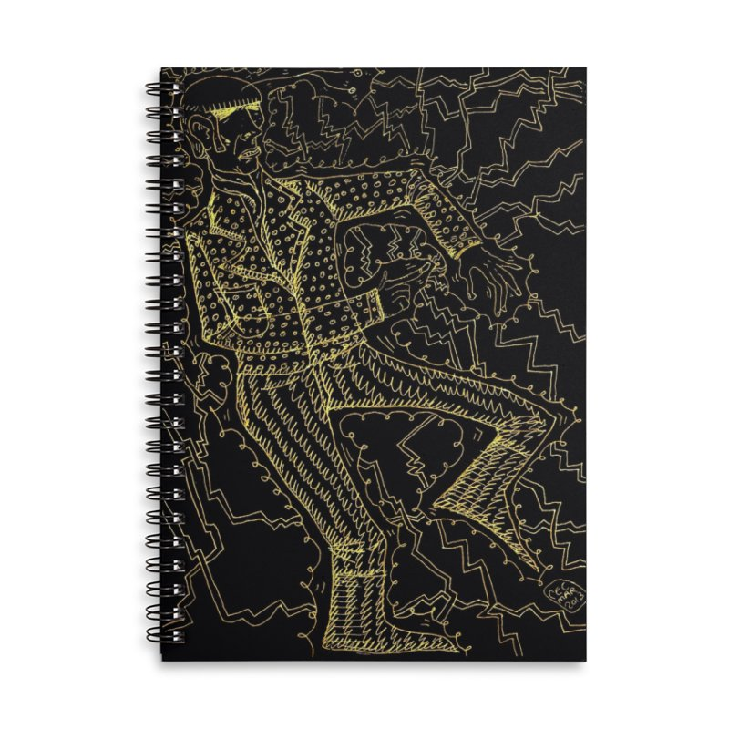 ELECTRONIQUE Accessories Notebook by WISE FINGER LAB