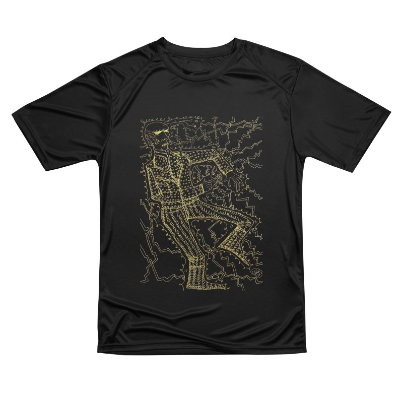 ELECTRONIQUE Men's T-Shirt by WISE FINGER LAB