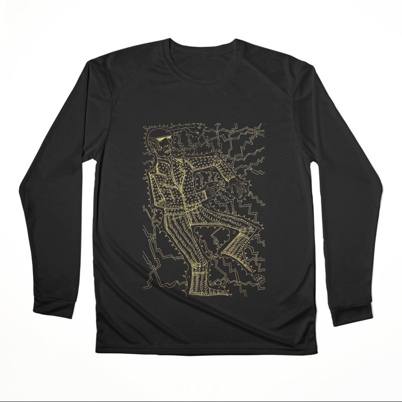 ELECTRONIQUE Women's Longsleeve T-Shirt by WISE FINGER LAB