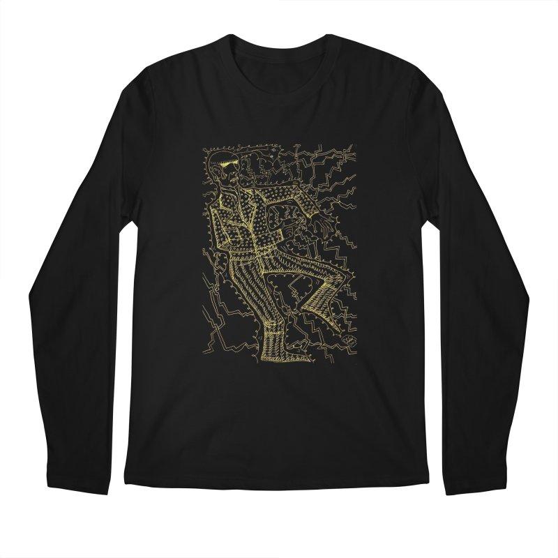 ELECTRONIQUE Men's Longsleeve T-Shirt by WISE FINGER LAB