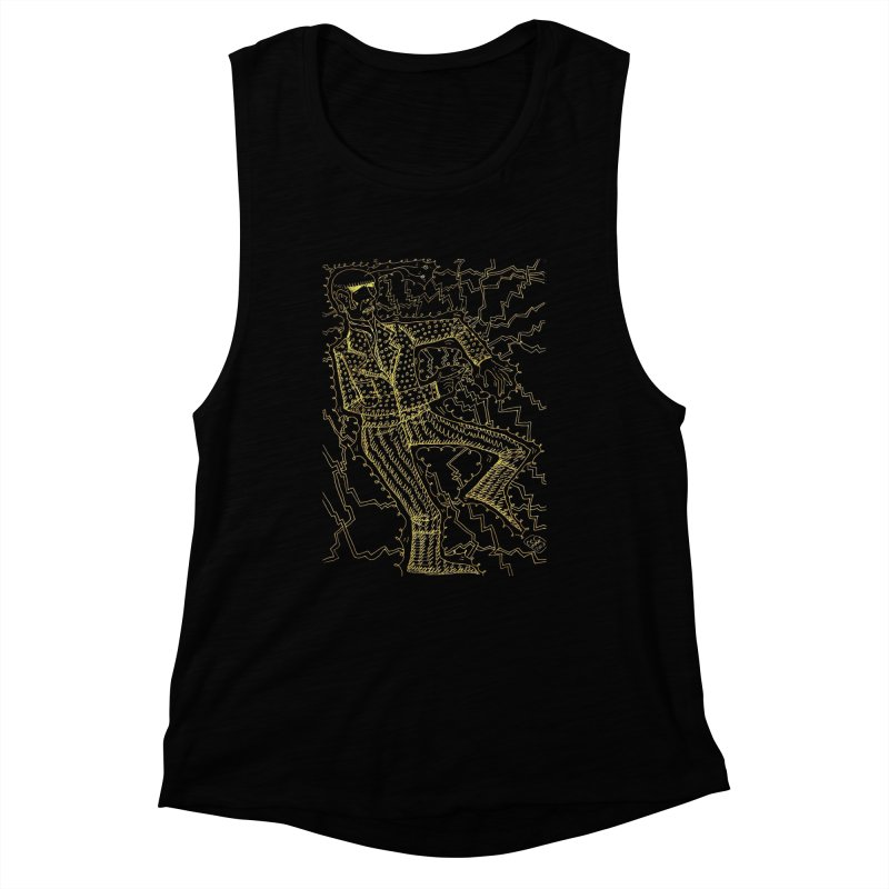 ELECTRONIQUE Women's Tank by WISE FINGER LAB