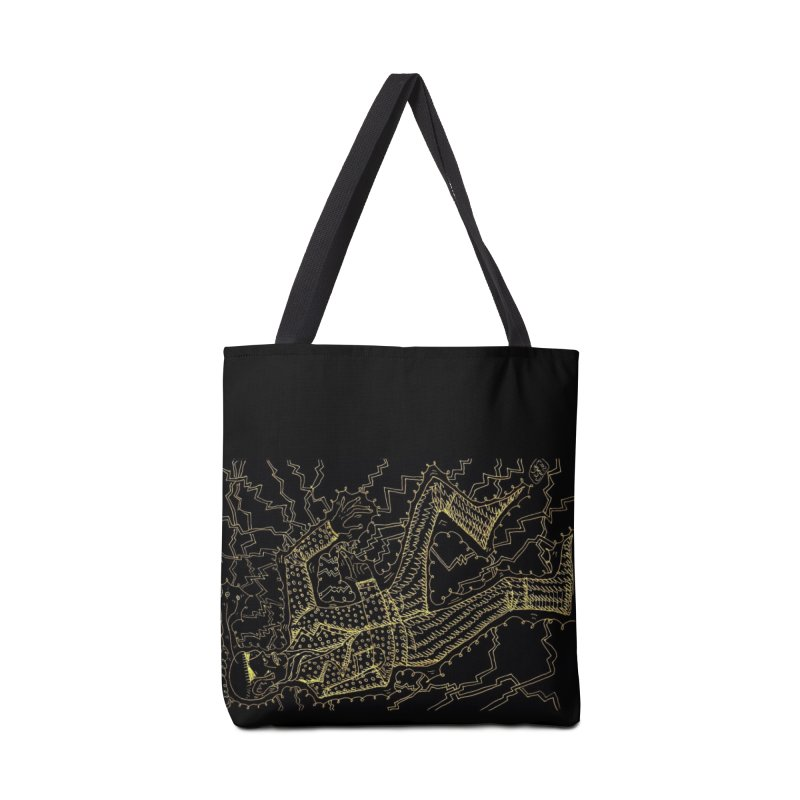 ELECTRONIQUE Accessories Bag by WISE FINGER LAB