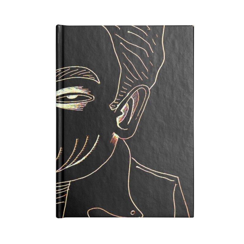BIRDBRAIN MANDIBLE Accessories Notebook by WISE FINGER LAB