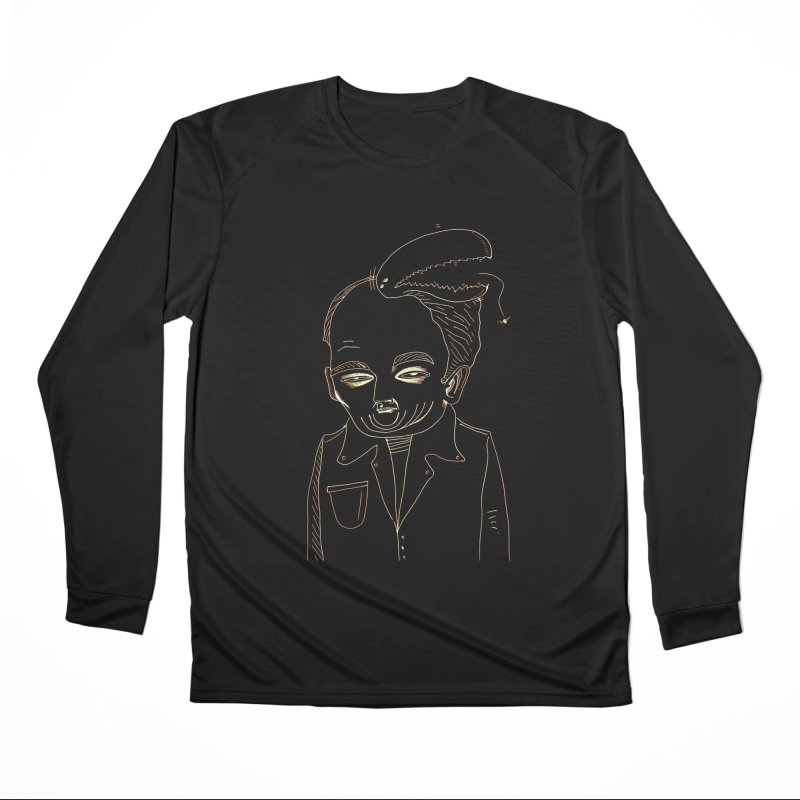 BIRDBRAIN MANDIBLE Men's Longsleeve T-Shirt by WISE FINGER LAB