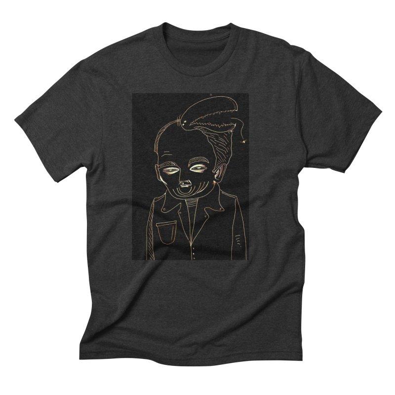 BIRDBRAIN MANDIBLE Men's T-Shirt by WISE FINGER LAB