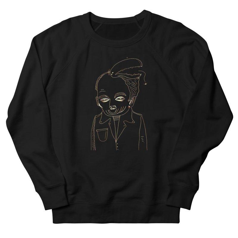 BIRDBRAIN MANDIBLE Men's Sweatshirt by WISE FINGER LAB