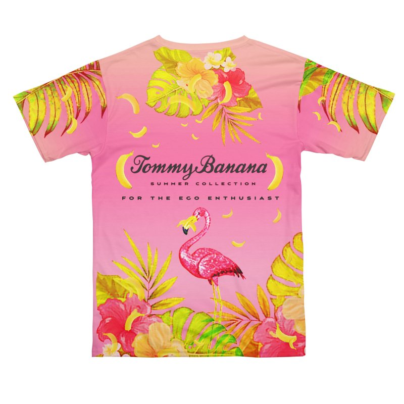 TOMMY BANANA - STRAWBERRY DAIQUIRI Men's Cut & Sew by WISE FINGER LAB