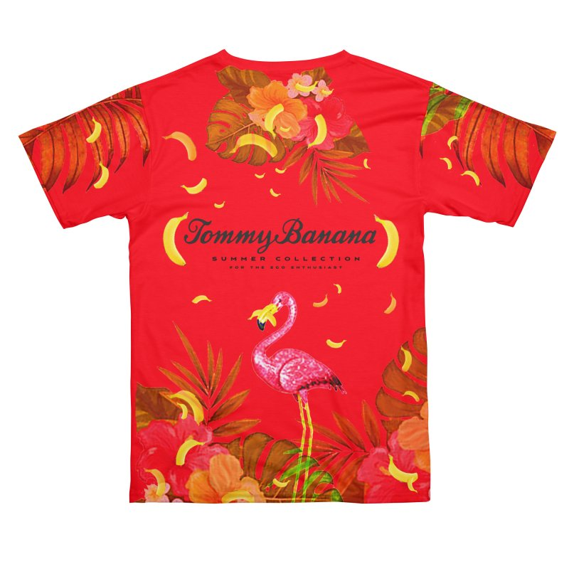 TOMMY BANANA - RED ICULOUS Women's Cut & Sew by WISE FINGER LAB