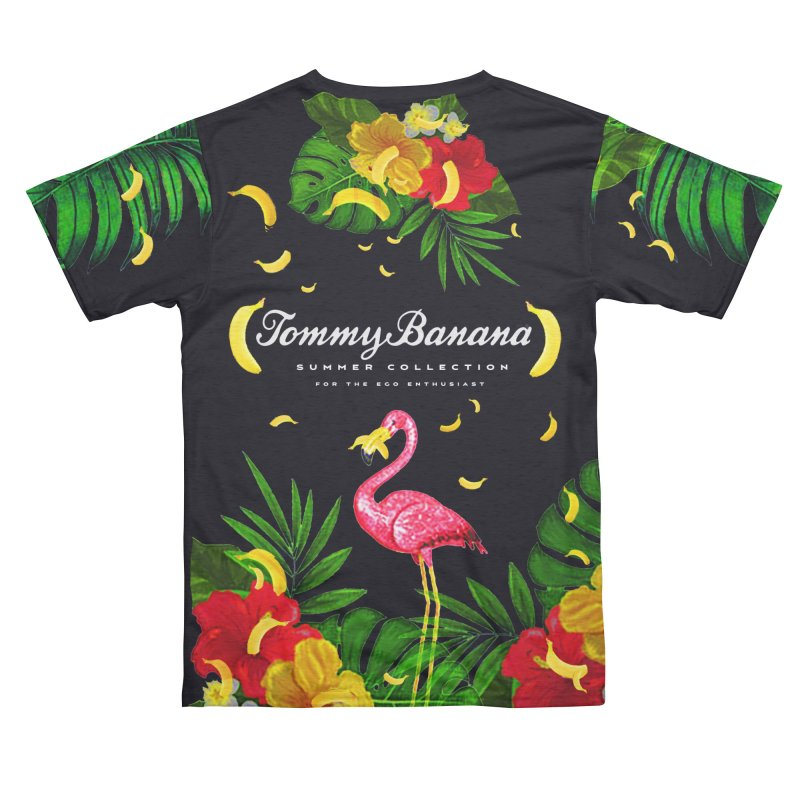TOMMY BANANA - BLACK MAMBA Men's Cut & Sew by WISE FINGER LAB