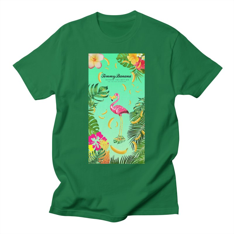 TOMMY BANANA - GRANNY SMITH - BEACH TOWEL Men's T-Shirt by WISE FINGER LAB