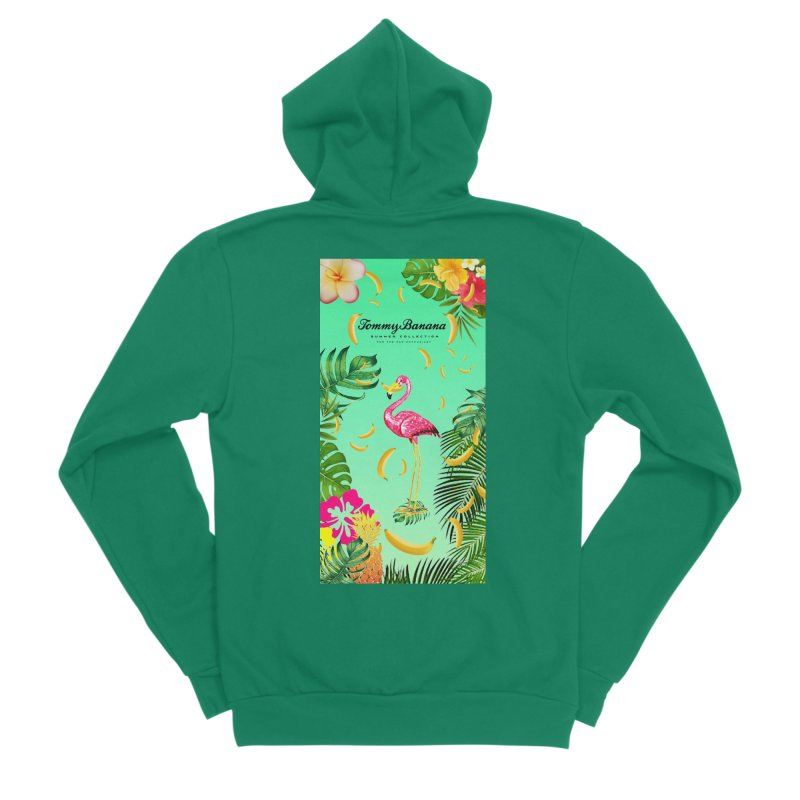 TOMMY BANANA - GRANNY SMITH - BEACH TOWEL Men's Zip-Up Hoody by WISE FINGER LAB